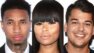 Rob Kardashian And Tyga REACT To Blac Chyna Pregnancy!