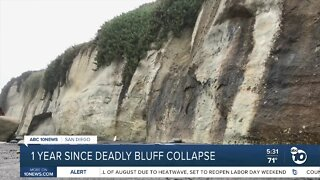 One year since deadly Encinitas bluff collapse