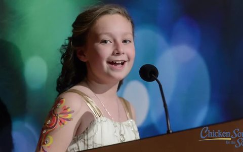 Inspirational little girl raises money to help other kids