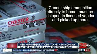 New California gun laws set to kick in Monday - Video