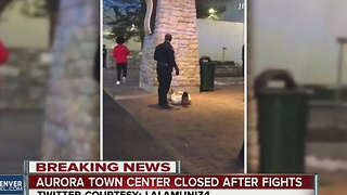 Aurora Town Center mall evacuated - Video