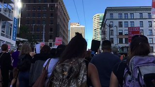 Demonstrators Chant 'Black Lives Matter' During Charleena Lyles Protest in Seattle - Video