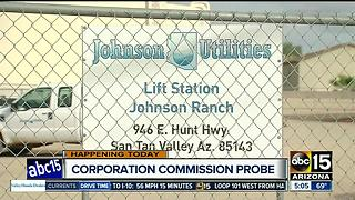 Corporation Commission probe into Johnson Utilities - Video
