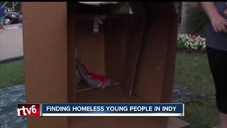 The Coalition for Homelessness Intervention and Prevention kicked off Youth County Indy on Monday - Video