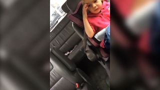 Toddler Insults Sister With Clothing - Video