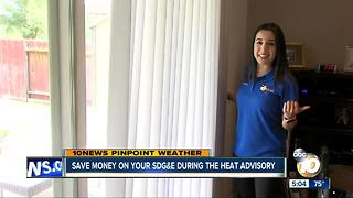 Save money on your power bill during the heat advisory