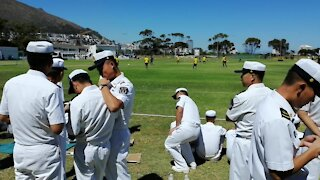 SOUTH AFRICA - Cape Town - Russia China SA NAVY Soccer Tournament (Video) (C3U)