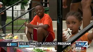 414ward: Free Summer playground program - Video