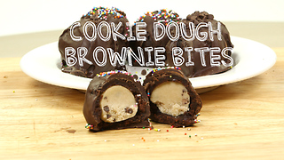 Cookie dough brownie bombs - Video