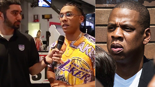 Laker Fans Think Jay Z Plays for the Team! - Video