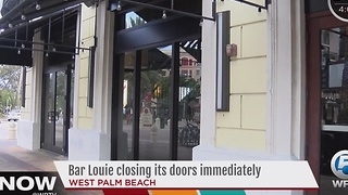 Bar Louie closing its doors immediately - Video