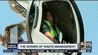 Not just for men: meet three Arizona women who enjoy driving big trucks - Video