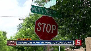 E. Nashville Neighbors Concerned About Speeding - Video