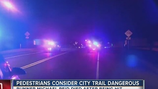 Pedestrians consider city trail dangerous - Video