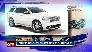 Search for burglary suspect - Video