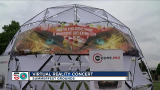 Virtual Reality Concert at Summerfest - Video