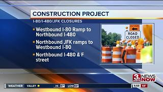 Lane Closures, July 5 - Video