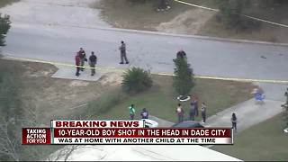 10-year-old expected to be ok after shooting in Dade City - Video
