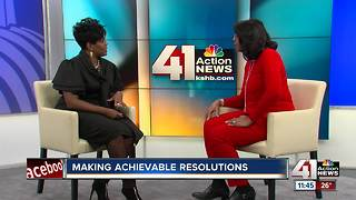 Making achievable New Year's resolutions - Video