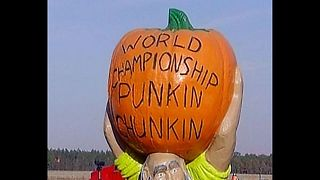 Extreme Pumpkin Catapulting - Video