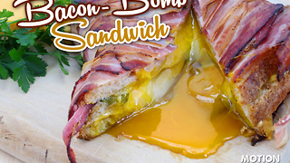 Bacon bomb sandwich recipe - Video