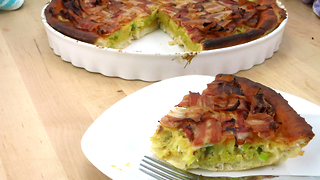 Delicious breakfast pie recipe - Video
