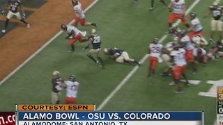 OSU takes on Colorado in the Alamo Bowl - Video