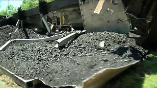 West Allis mom calls train derailment site a safety hazard - Video