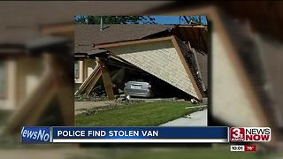 Police find van stolen from tornado victims - Video