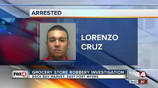 Grocery Store Robbery Investigation - Video