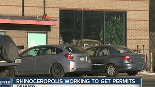 Rhinoceropolis working to get permits - Video