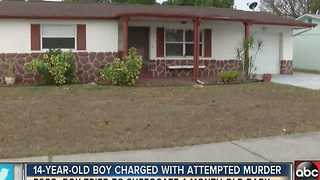 Pasco teenager arrested for attempted murder of 4-month-old baby - Video