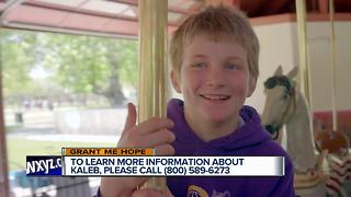 Grant Me Hope: Kaleb searching for forever family - Video