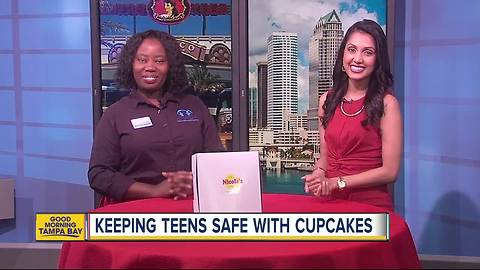 Donut shop honors National Cupcake Day with holiday party for kids against drugs