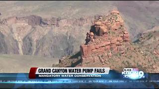 Grand Canyon imposes mandatory water conservation measures - Video