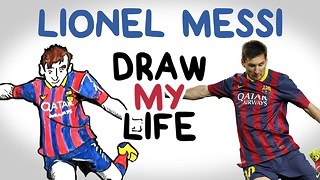 Messi | Draw My Life - Video