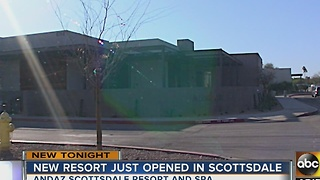 New resort opens in Scottsdale - Video