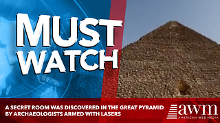 A Secret Room Was Discovered In The Great Pyramid By Archaeologists Armed With Lasers - Video