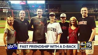 A.J. Pollock creates lasting connection with teenage fan fighting cancer - Video