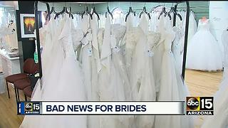 Major bridal company locks doors for good - Video