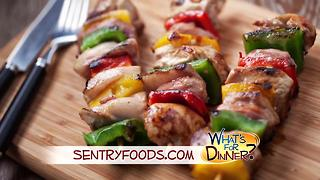 What's for Dinner? - Chicken Kabobs on the Grill - Video