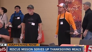 Rescue Mission Serves Up Hope For The Holidays - Video