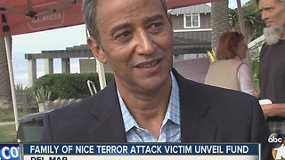 Nice Terror Attack Victim's Family Unveils Nicolas Leslie Scholarship - Video