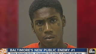 Baltimore Police announced Public Enemy No. 1 - Video