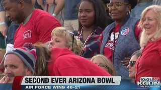 Air Force Wins Second Arizona Bowl -- Inside the Stadium - Video