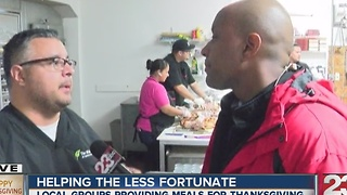 The Mission providing Thanksgiving meals - Video