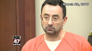 Larry Nassar pleads guilty to charges of child pornography - Video