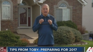 Tips from Toby: Preparing for 2017 - Video