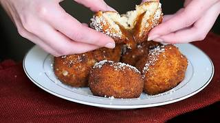 How to make mashed potato gravy bombs - Video