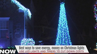 Best ways to save energy, money on Christmas lights - Video